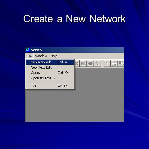 Create a New Network