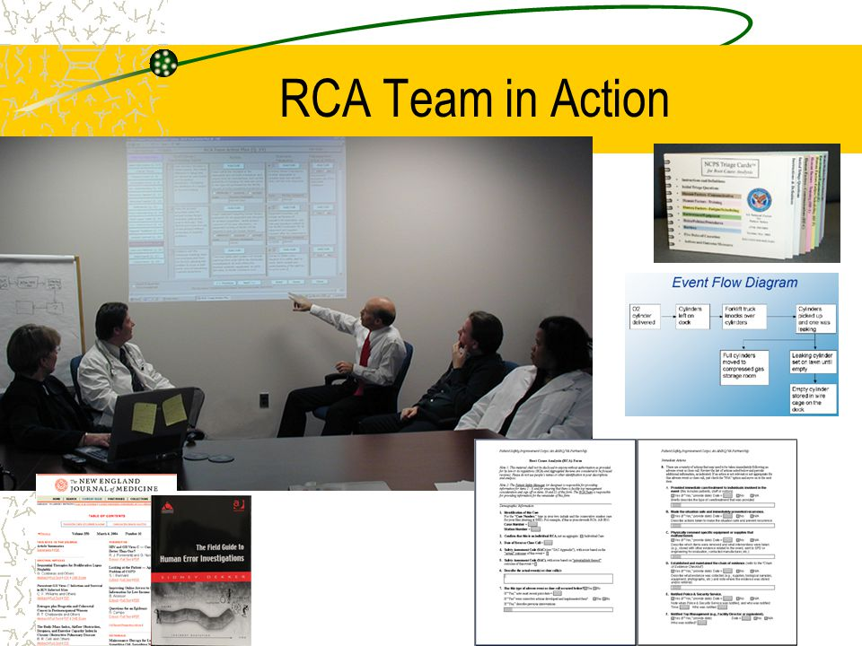 RCA Team in Action
