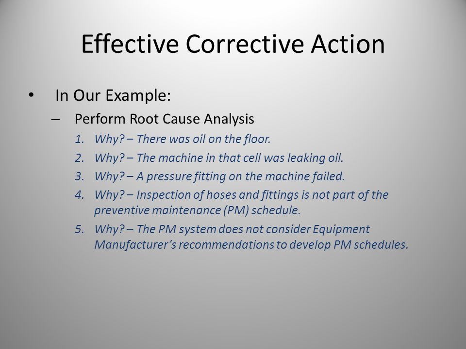 Root Cause Analysis Training - ppt video online download