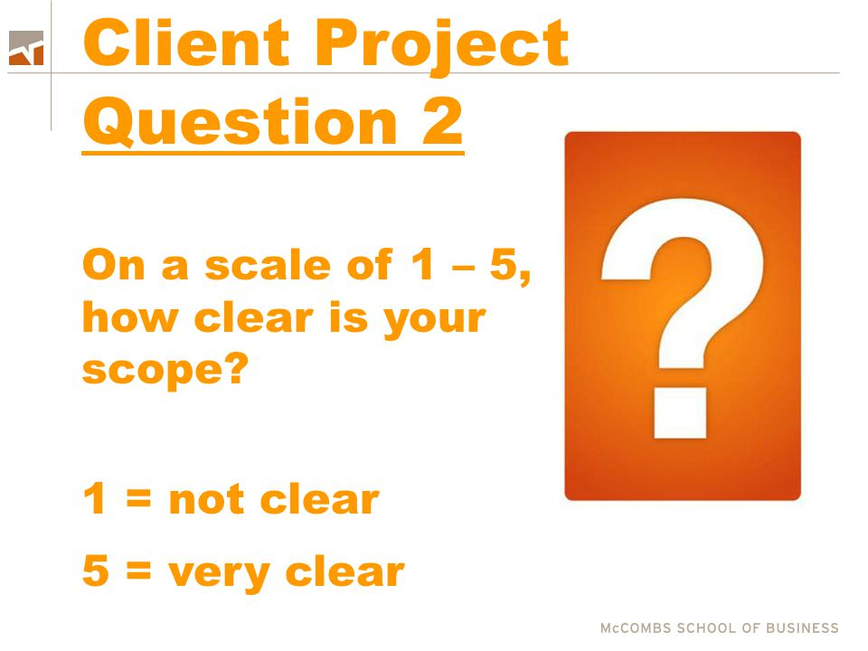 Client Project Question 2