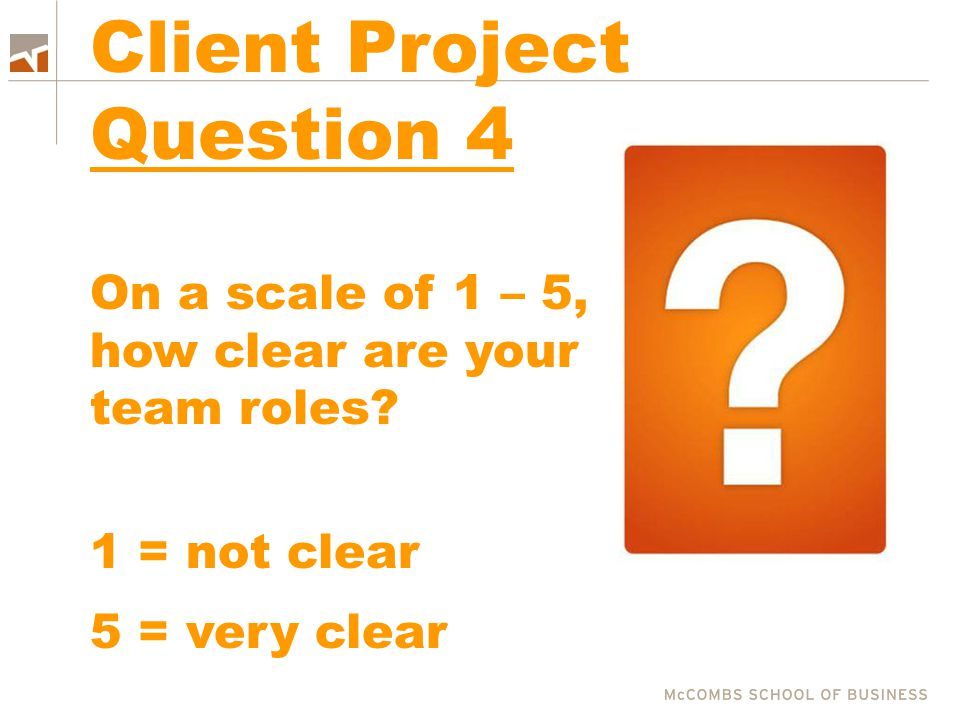 Client Project Question 4
