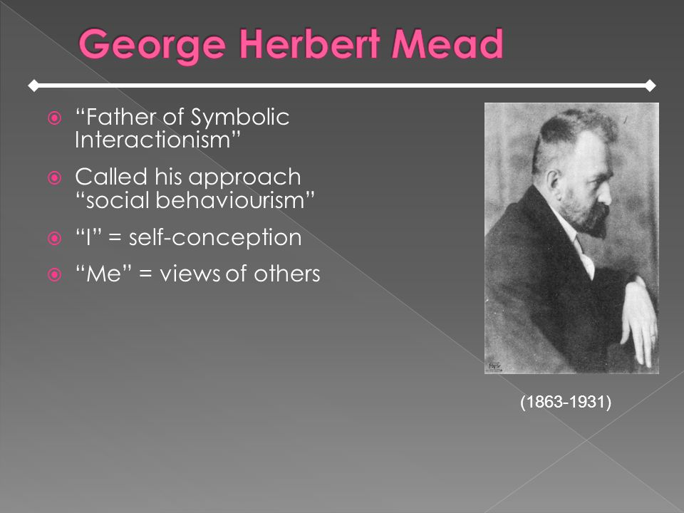 George Herbert Mead Erving Goffman Homework Writing Service