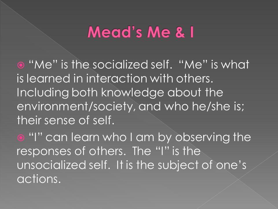 Mead's Me & I
