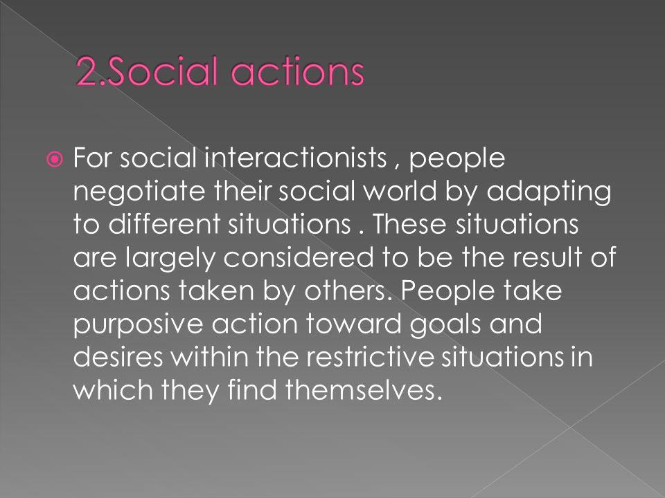 2.Social actions