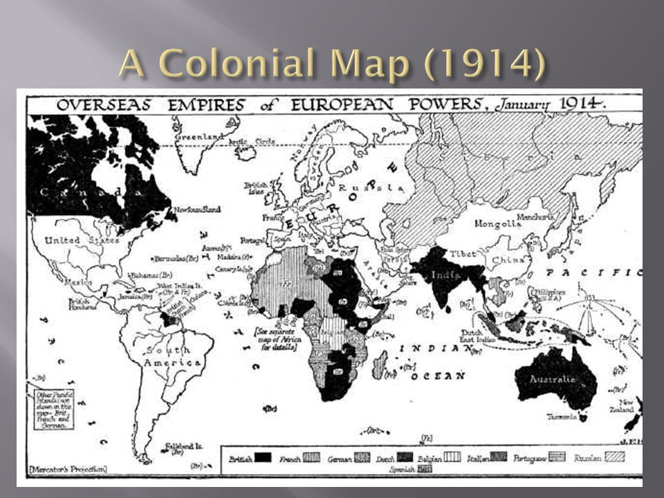 A Colonial Map (1914)