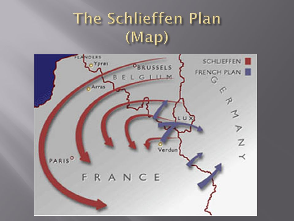 The Schlieffen Plan (Map)