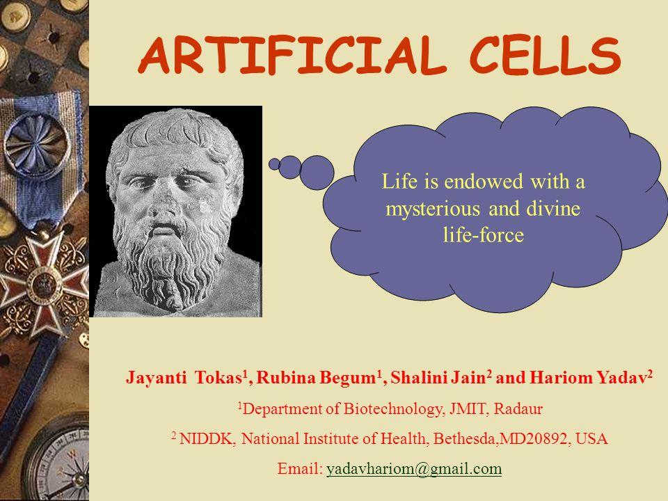 Jayanti Tokas1, Rubina Begum1, Shalini Jain2 and Hariom Yadav2