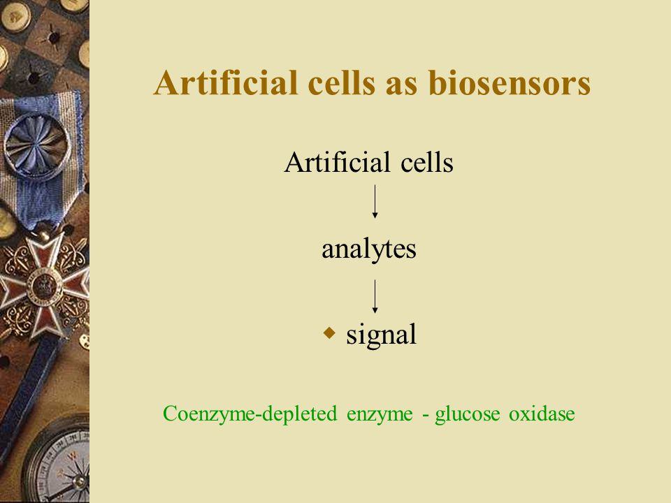 Artificial cells as biosensors