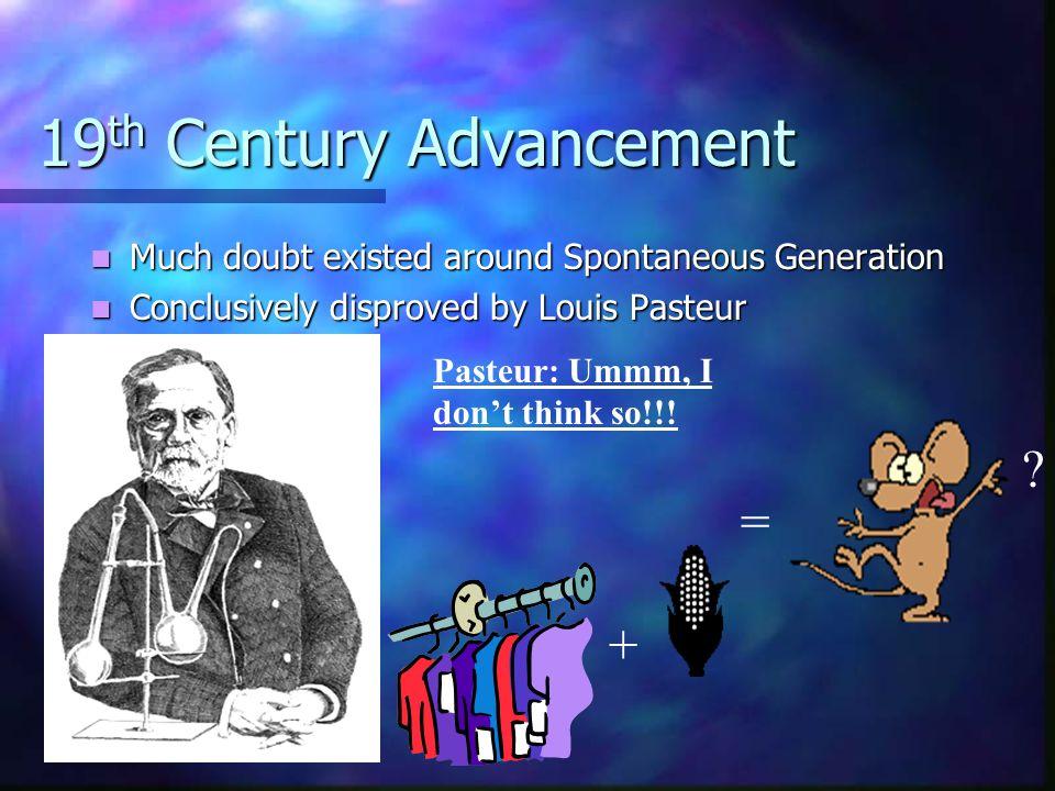 19th Century Advancement