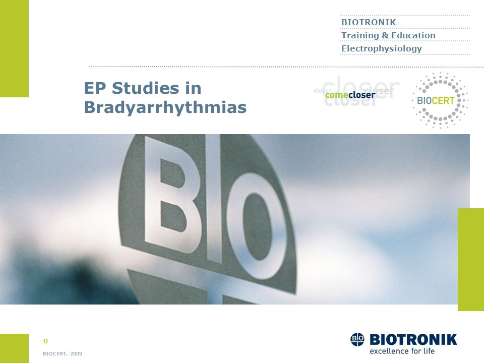 EP Studies in Bradyarrhythmias