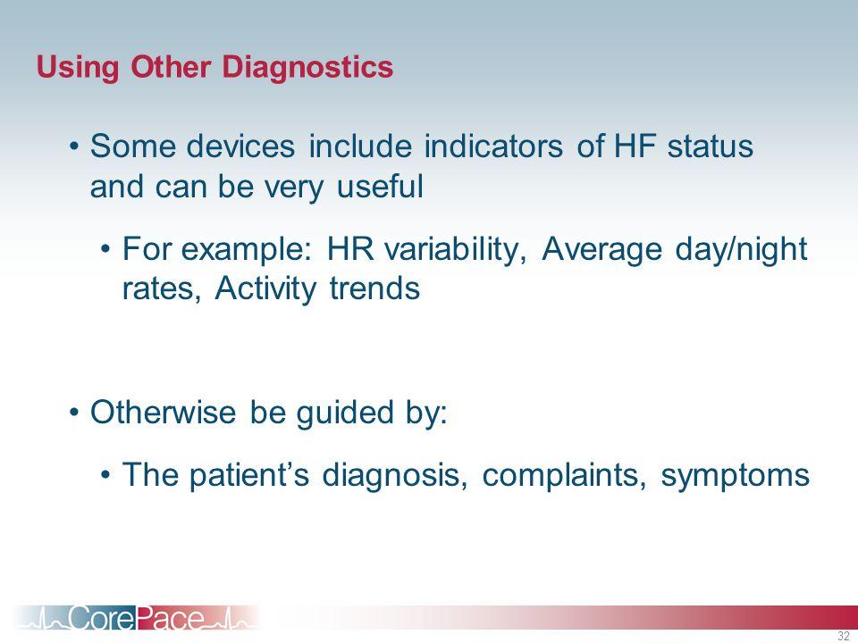 Using Other Diagnostics