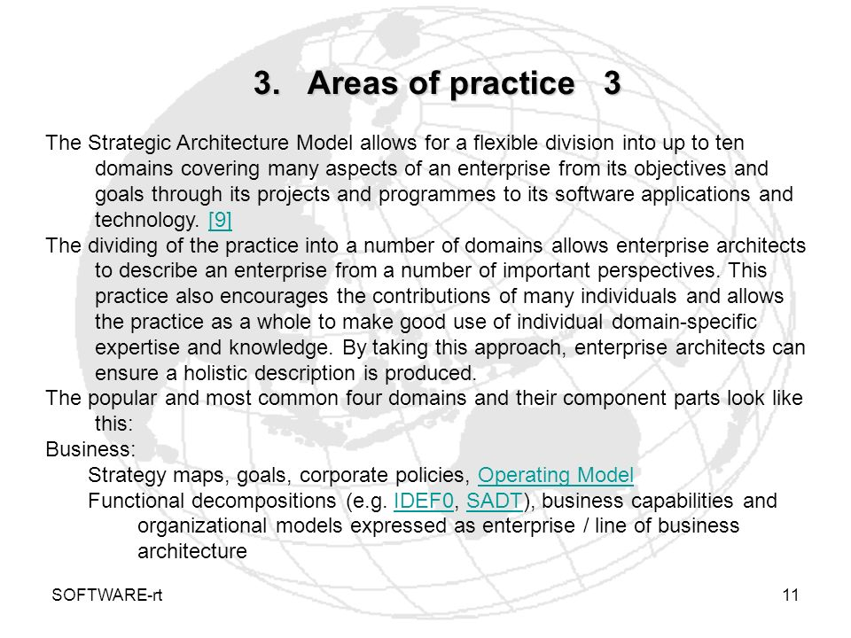 3. Areas of practice 3