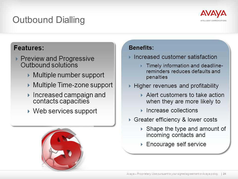 Outbound Dialling Features: Preview and Progressive Outbound solutions