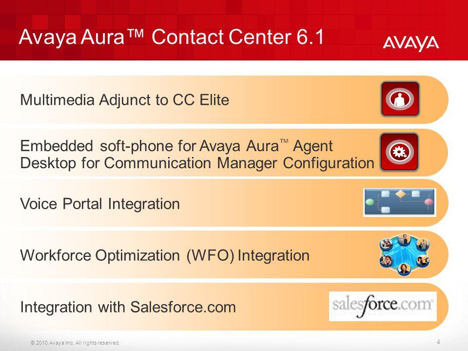 Avaya Aura™ Contact Center 6.1