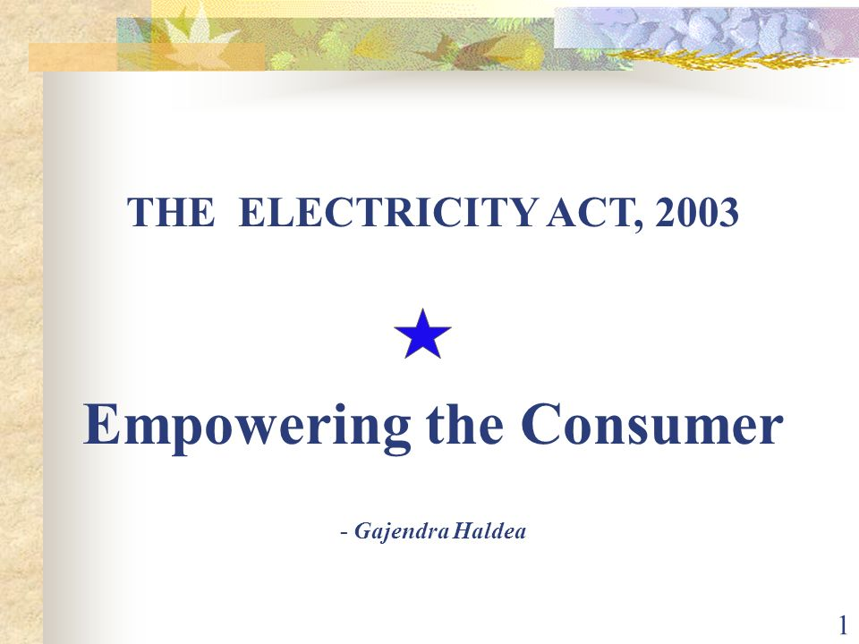 Empowering the Consumer