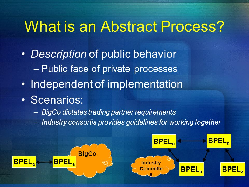 What is an Abstract Process