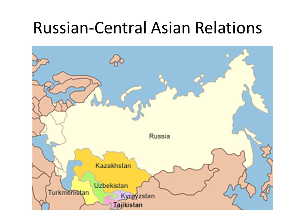 Russian-Central Asian Relations
