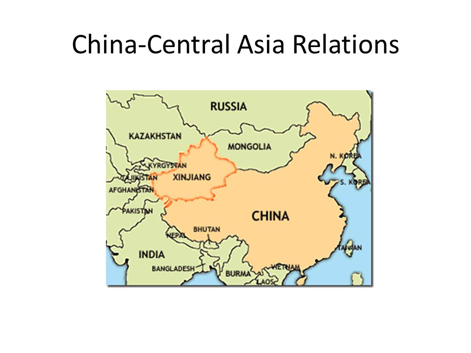 China-Central Asia Relations