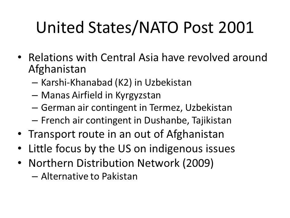 United States/NATO Post 2001