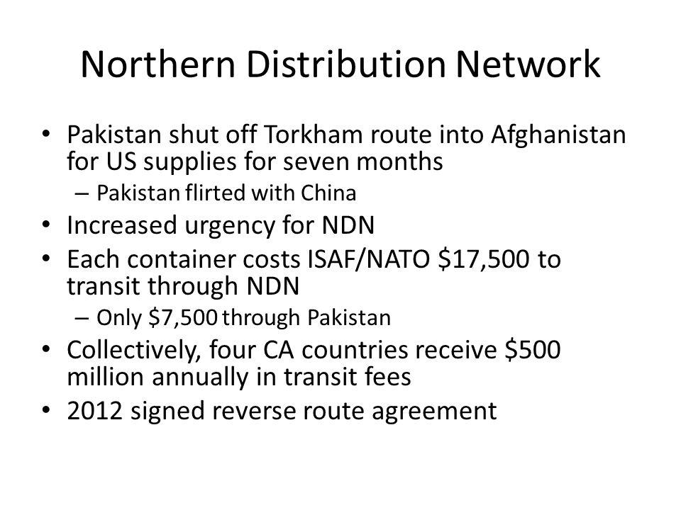 Northern Distribution Network