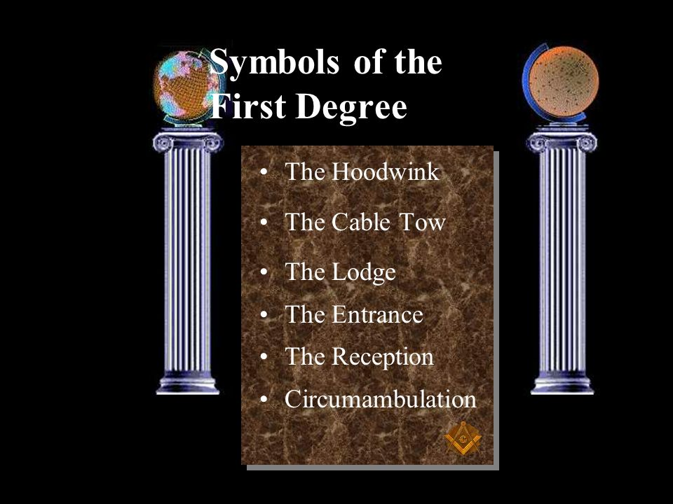 Symbols of the First Degree
