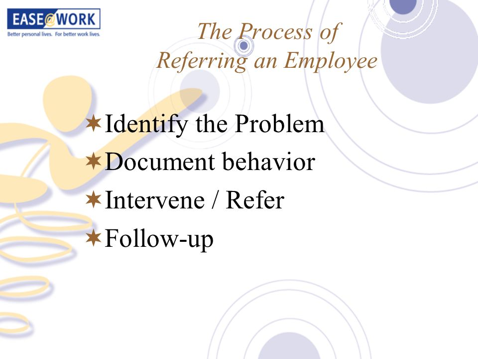 The Process of Referring an Employee