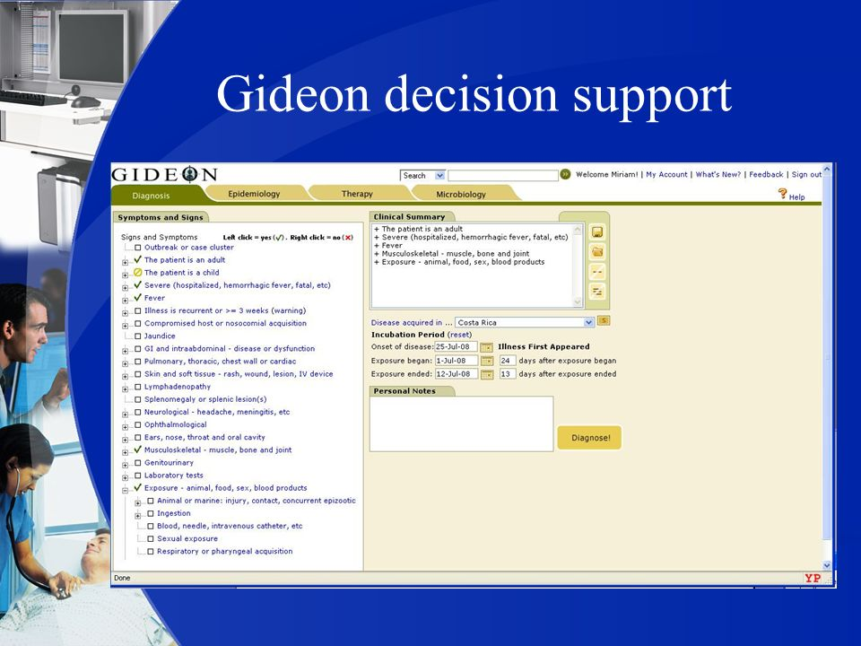 Gideon decision support