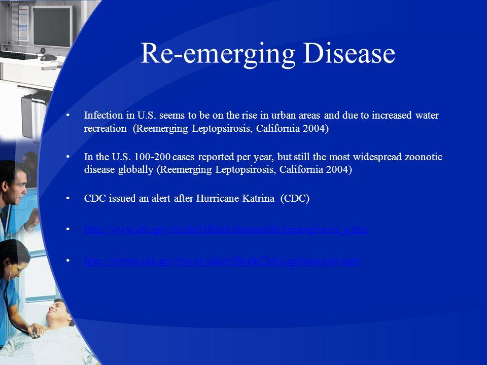 Re-emerging Disease