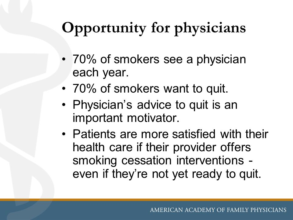 Opportunity for physicians