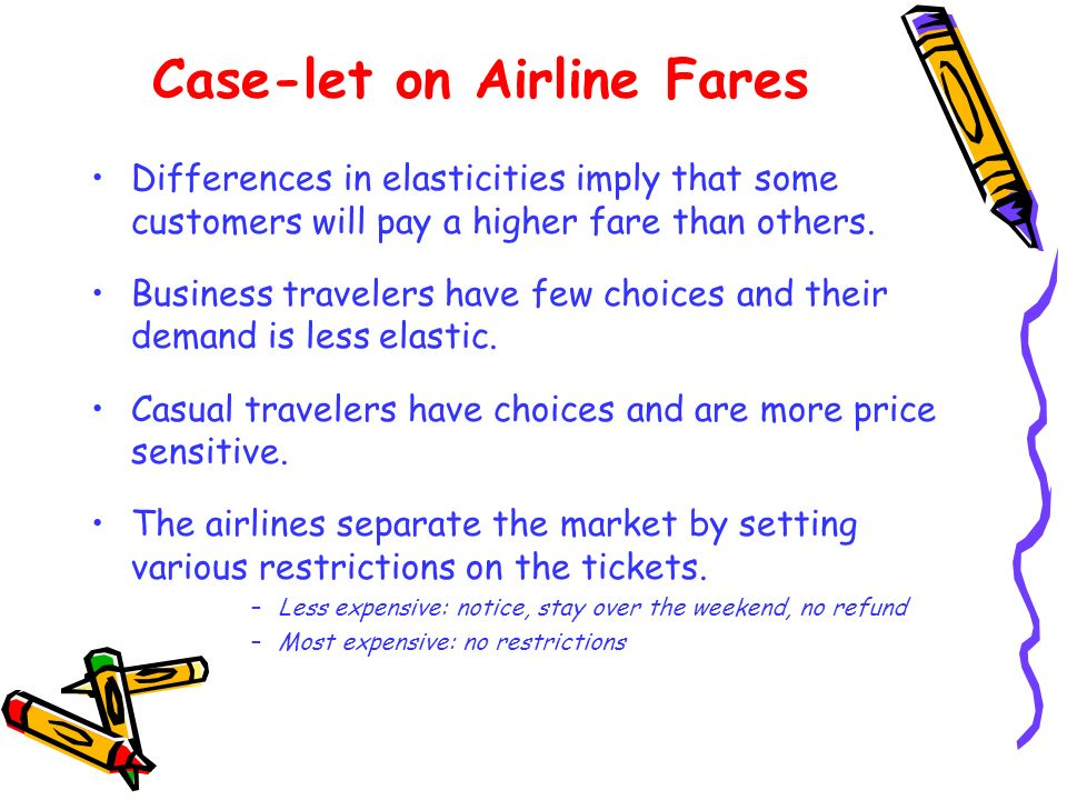 Case-let on Airline Fares