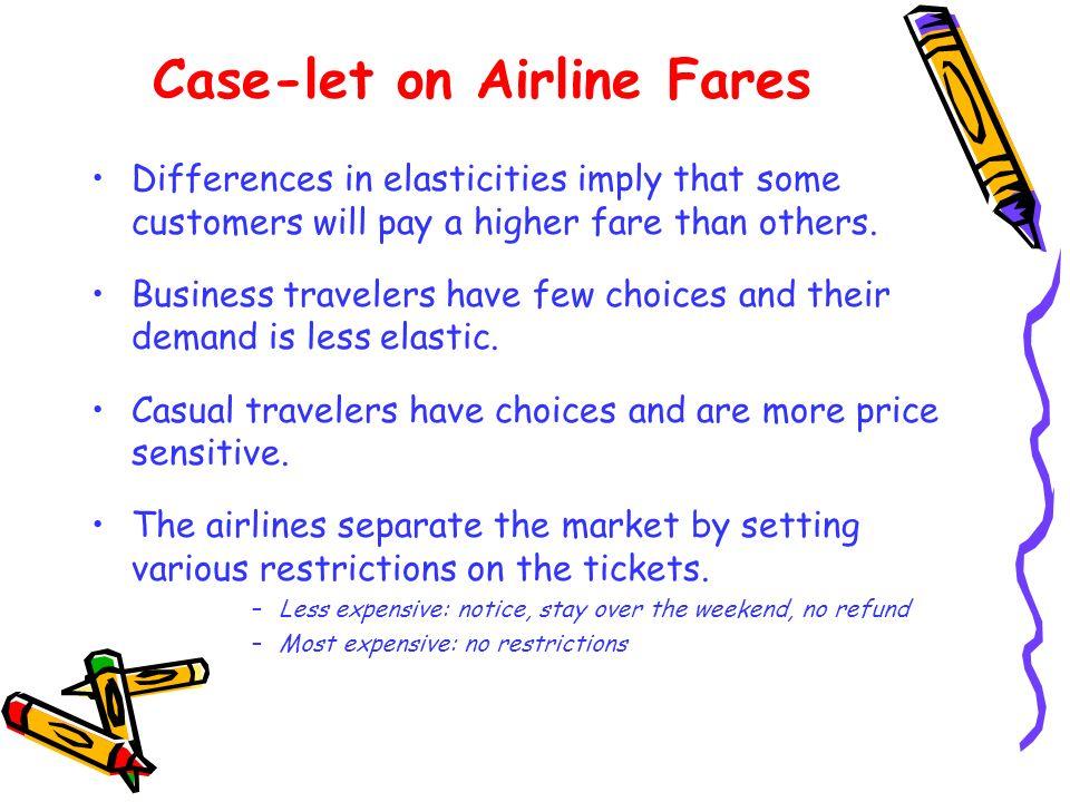 Case-let on Airline Fares