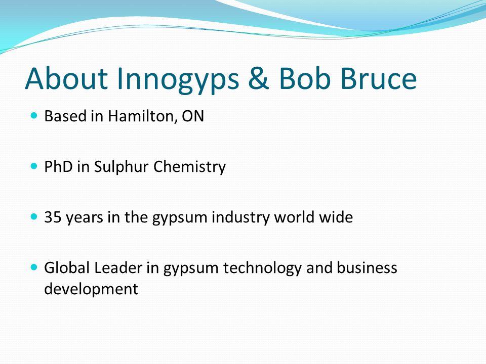 About Innogyps & Bob Bruce