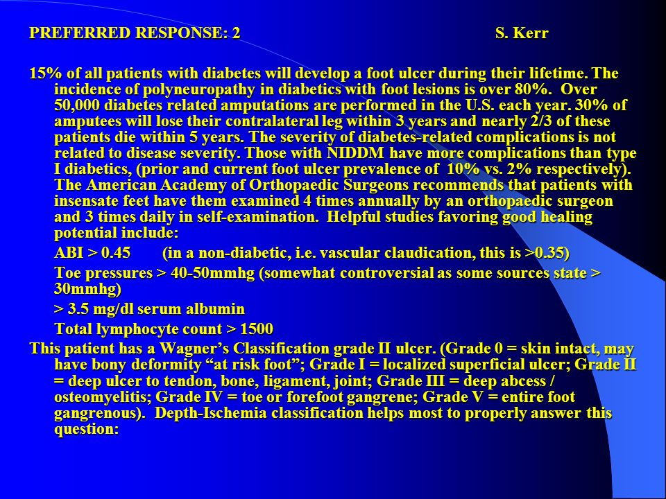 PREFERRED RESPONSE: 2 S. Kerr