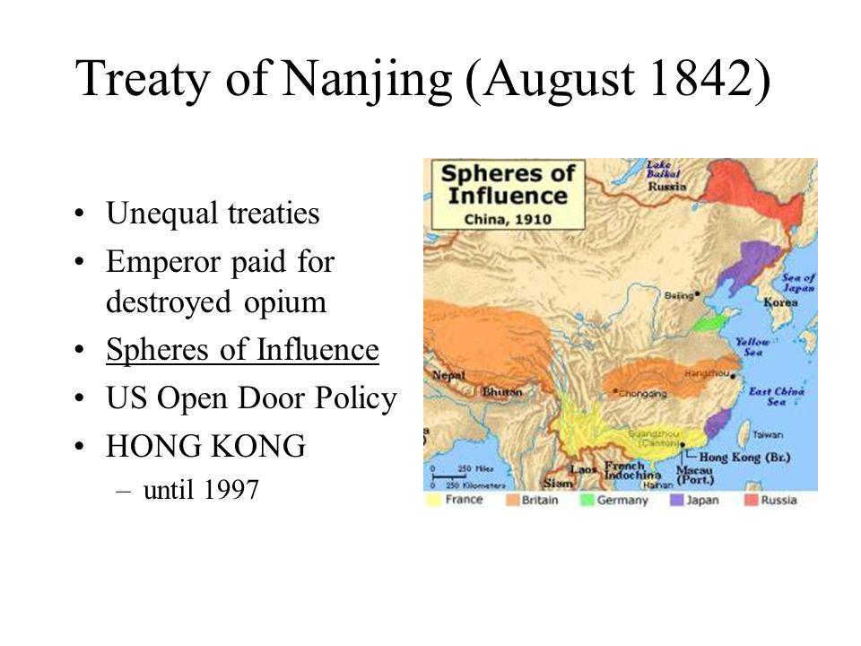 Treaty of Nanjing (August 1842)