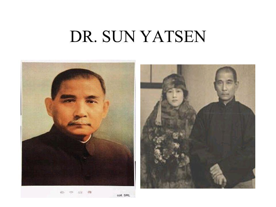DR. SUN YATSEN