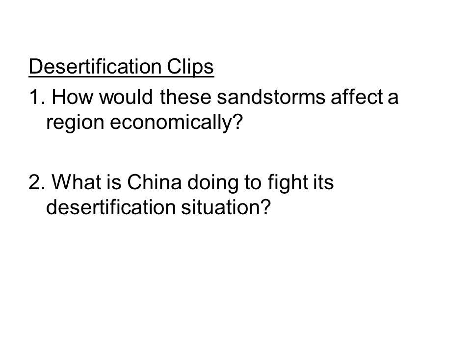 Desertification Clips