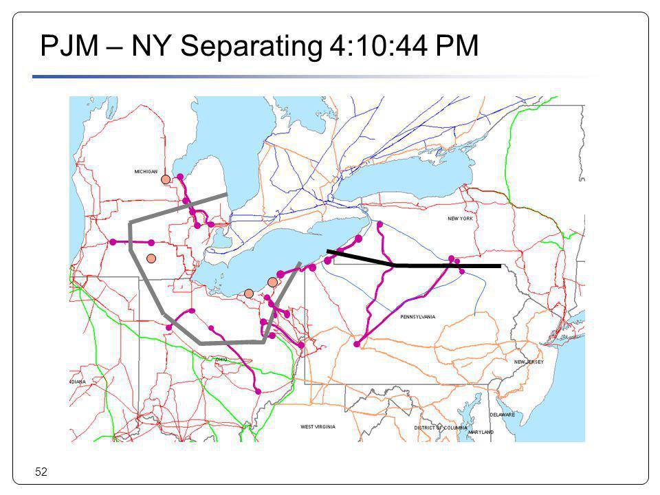 PJM – NY Separating 4:10:44 PM