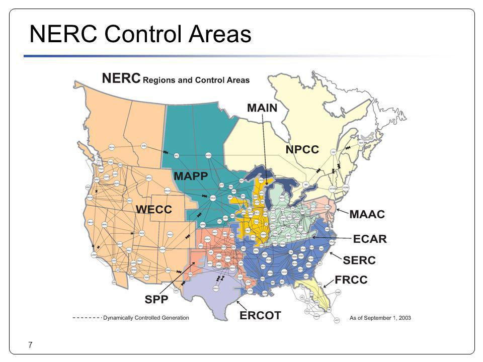 NERC Control Areas