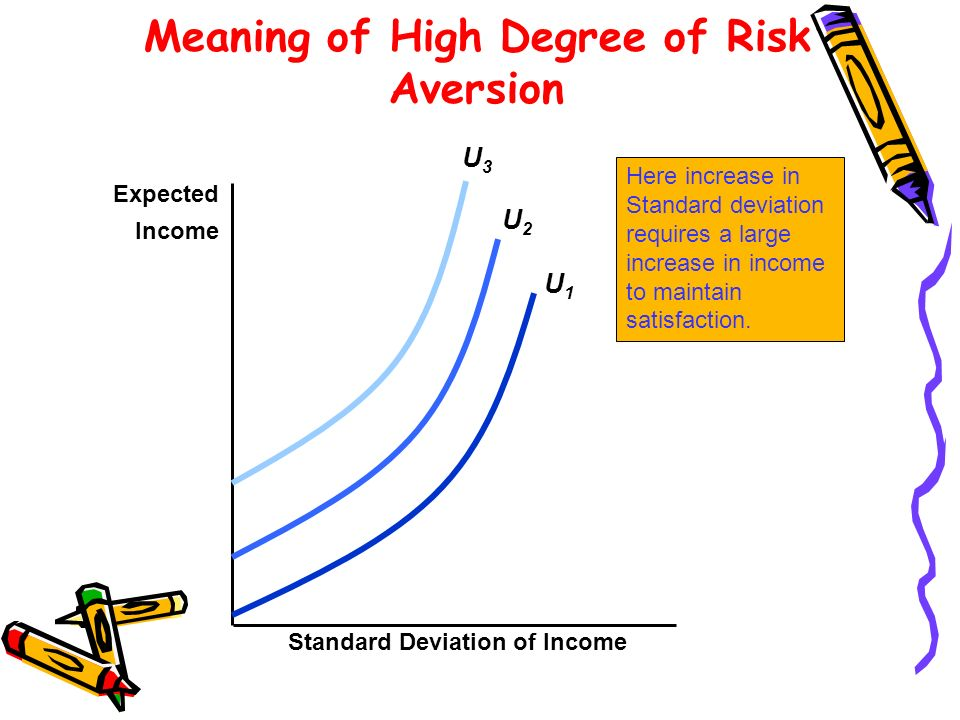 Meaning of High Degree of Risk Aversion
