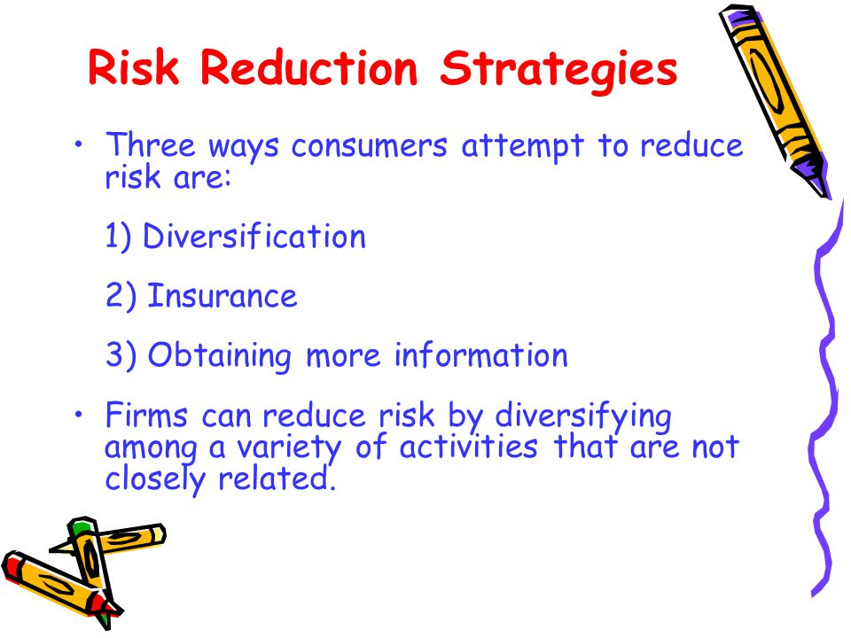 Risk Reduction Strategies