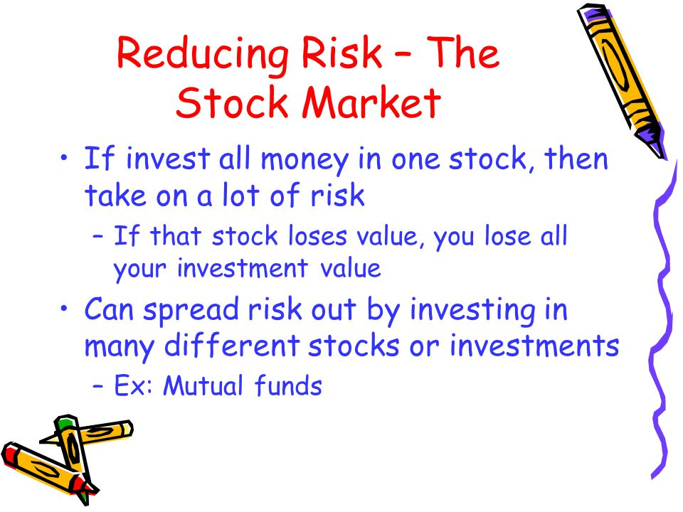 Reducing Risk – The Stock Market
