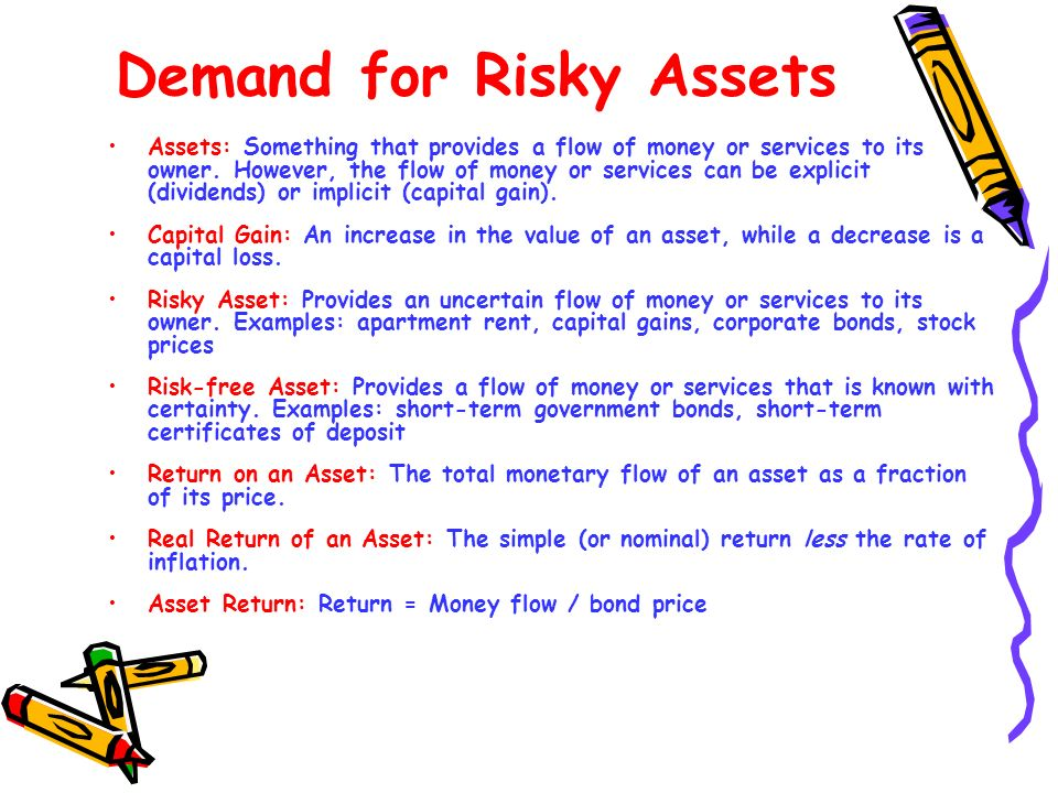 Demand for Risky Assets