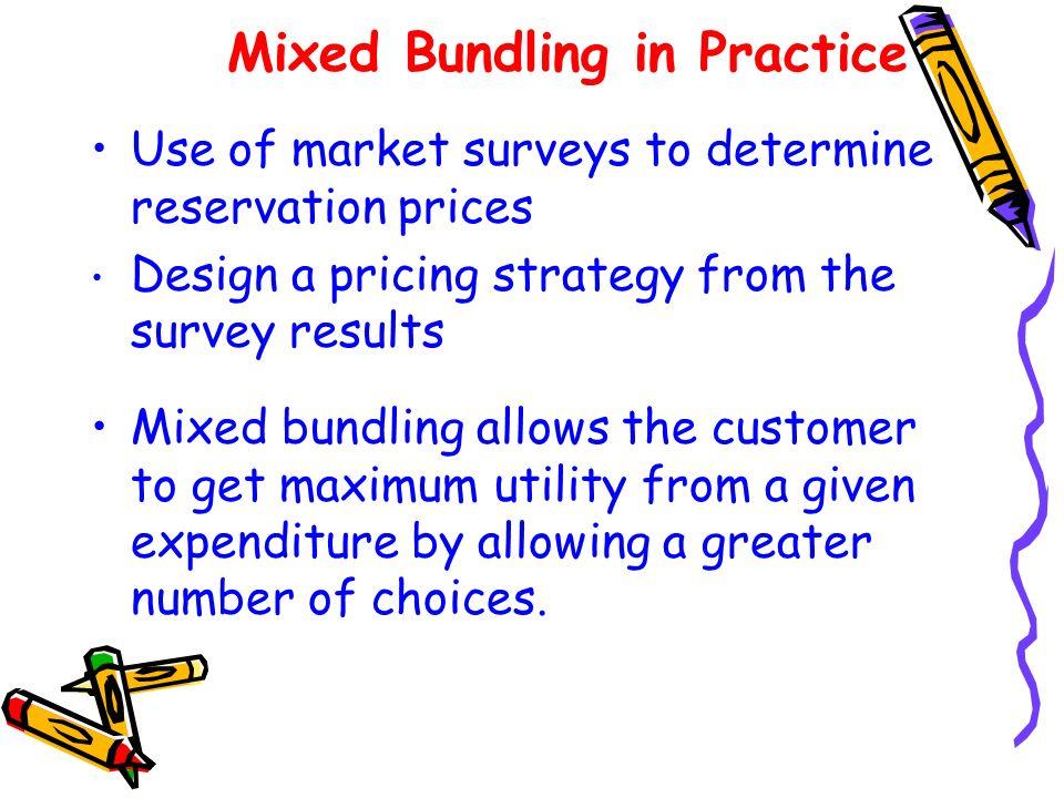 Mixed Bundling in Practice