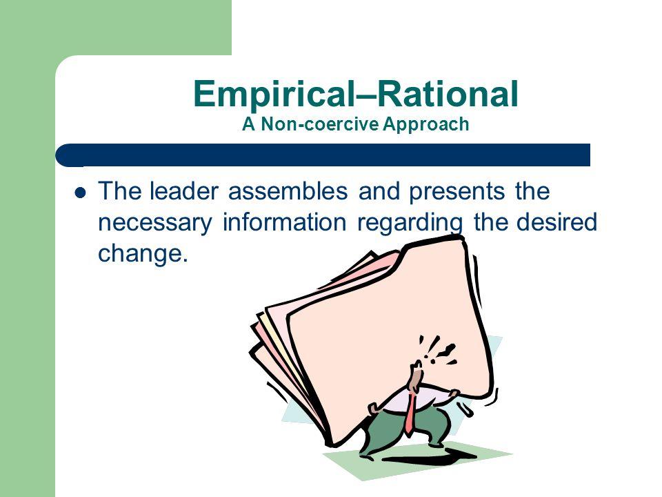 Empirical–Rational A Non-coercive Approach