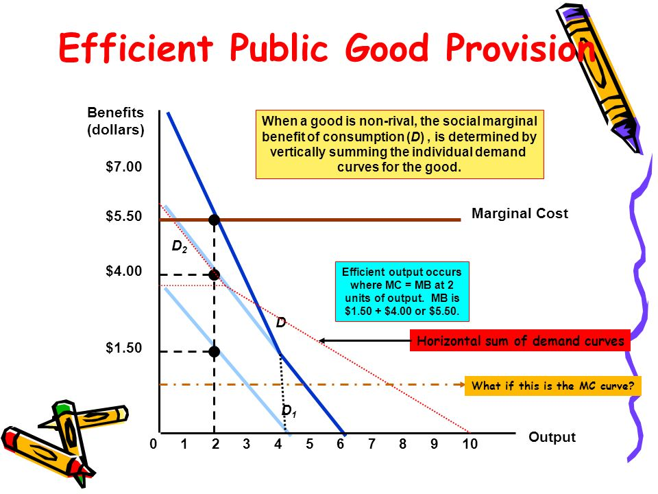 Efficient Public Good Provision