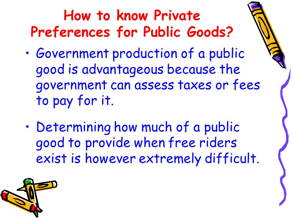 How to know Private Preferences for Public Goods