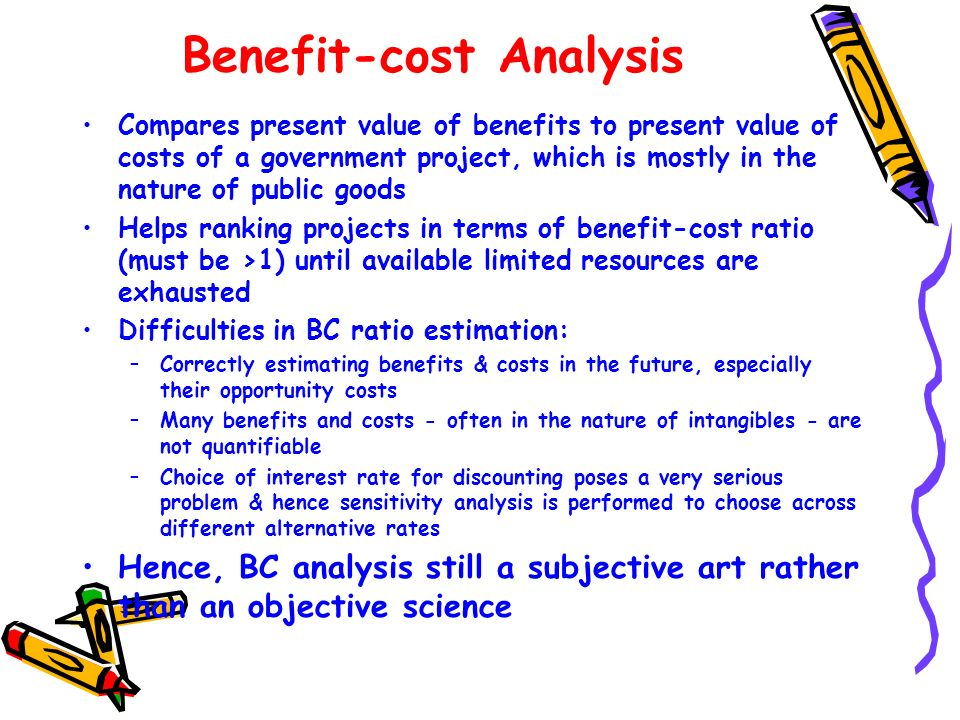 Benefit-cost Analysis