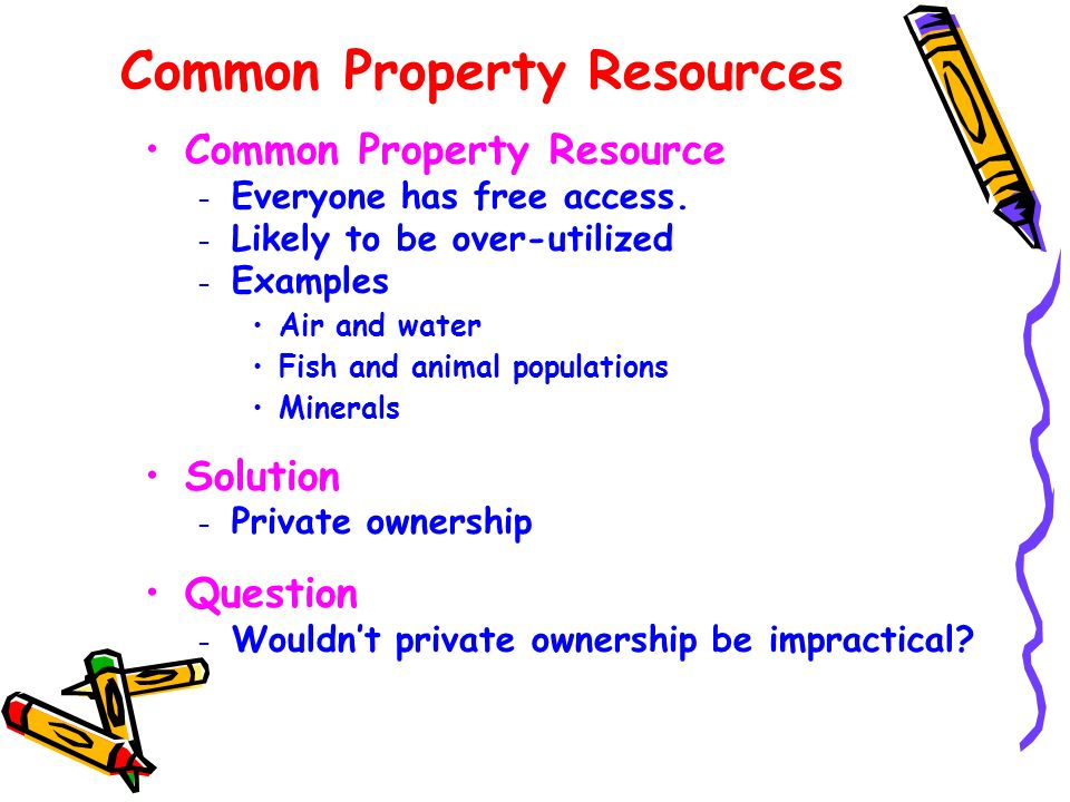 Common Property Resources