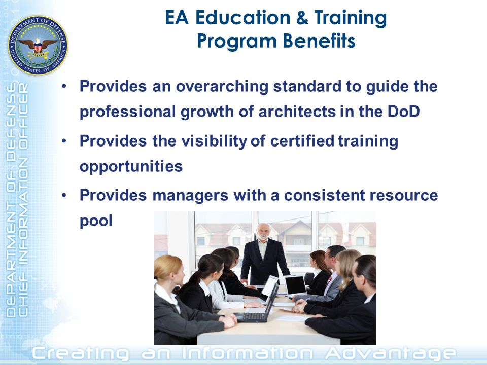 EA Education & Training Program Benefits