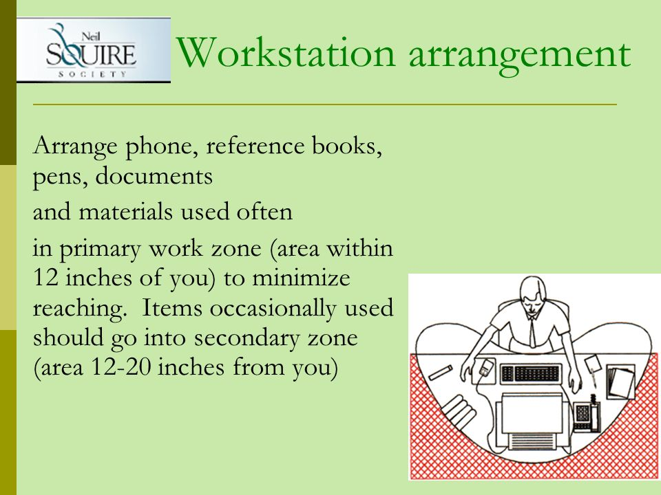 Workstation arrangement